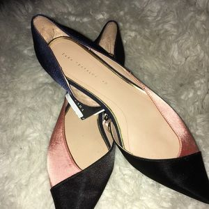 Zara Flat shoes multi colored